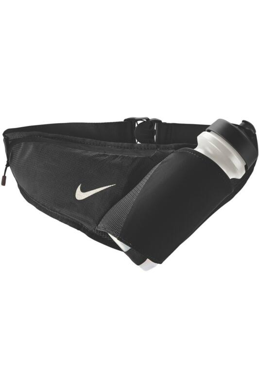 Nike Unisex Övtáska, többszínű Nike large bottle belt 22oz black/black/silver, N.RL.90.082-OS