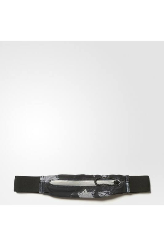 Adidas Unisex Övtáska, Fekete Run graph belt, S96360-NS
