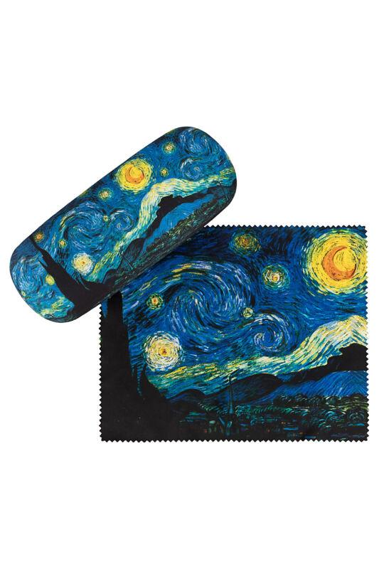 Van Gogh: Csillagos éj - Szemüvegtok tisztítókendővel - von Lilienfeld