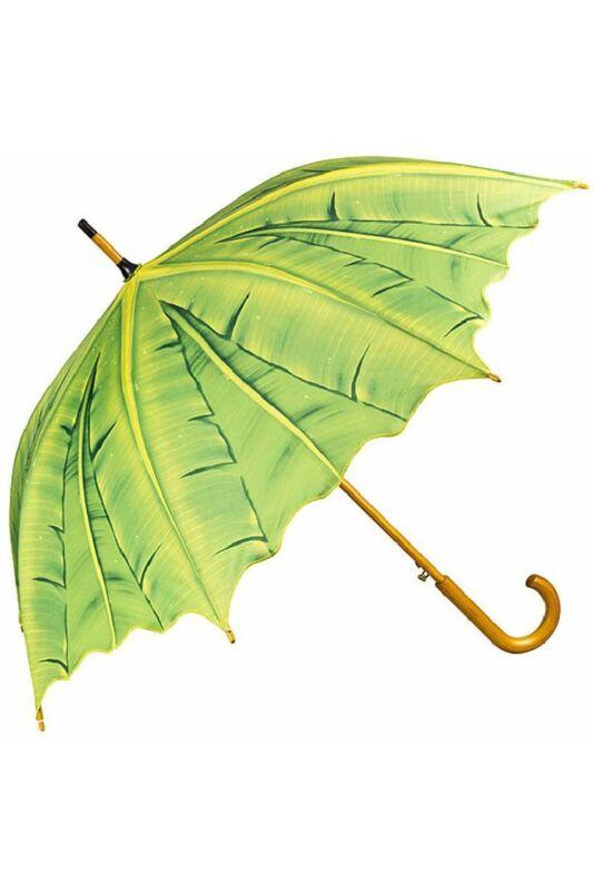 Pálmalevelek - UV szűrős - automata hosszúnyelű esernyő / napernyő - von Lilienfeld