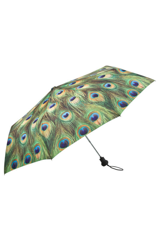 Páva - UV szűrős - automata összecsukható esernyő / napernyő - von Lilienfeld