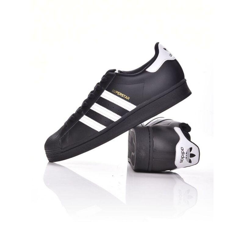 Adidas ORIGINALS Unisex Utcai cipő, Fekete SUPERSTAR, EG4959
