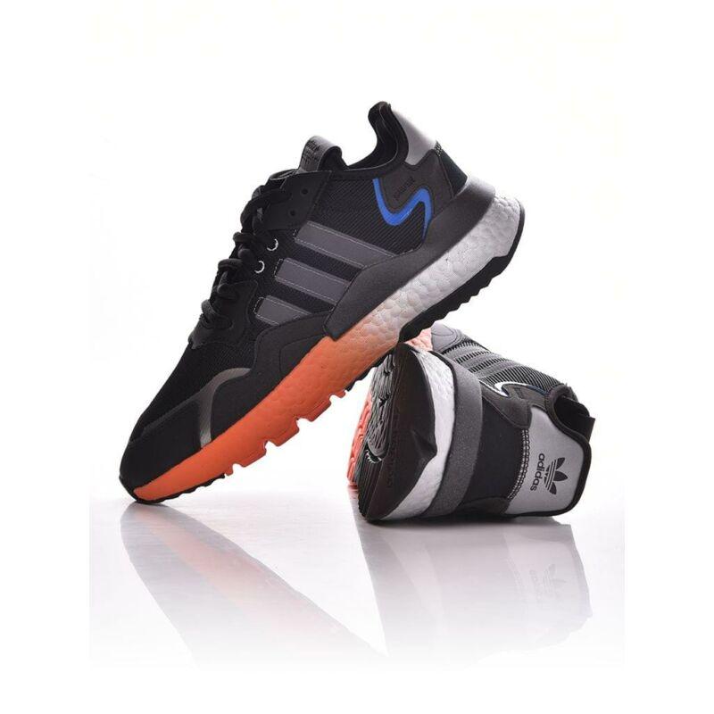 Adidas ORIGINALS Férfi Utcai cipő, Fekete NITE JOGGER, FY3686