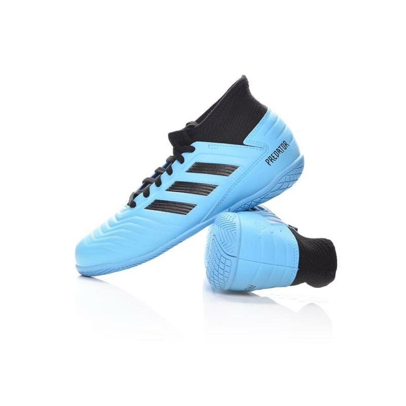 Adidas PERFORMANCE Kamasz fiú Foci cipő, Kék PREDATOR 19.3 IN J, G25807