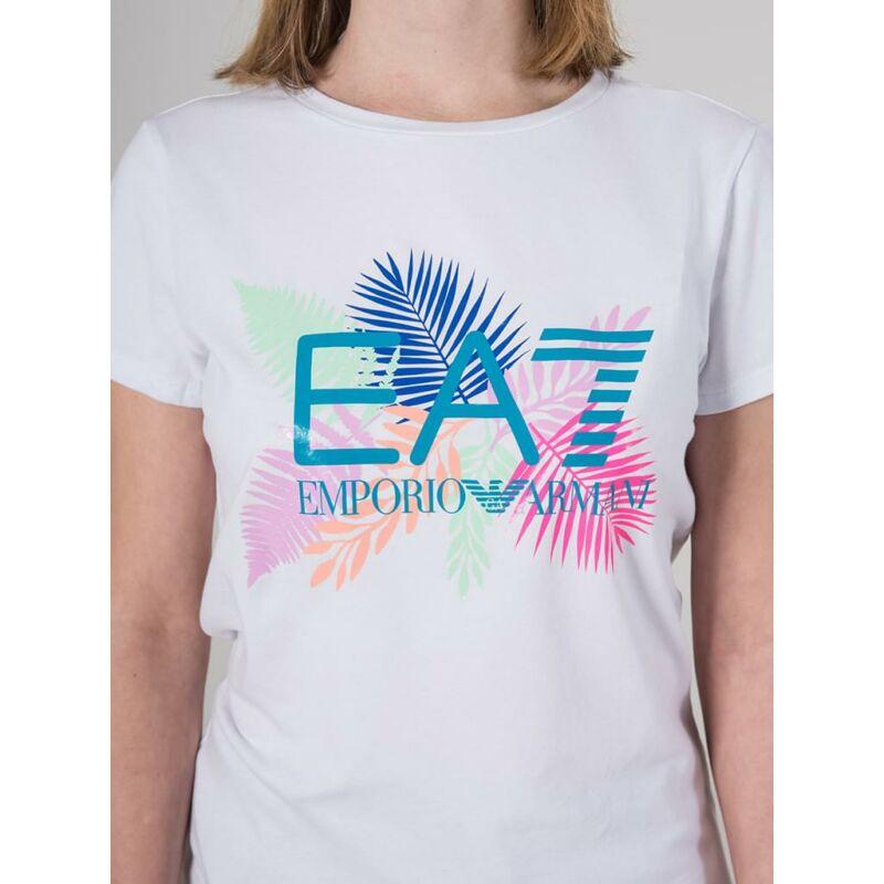 Emporio Armani Női Rövid ujjú T Shirt, Fehér TRAIN GRAPHIC SERIES W TEE, TJ12Z3HTT181100