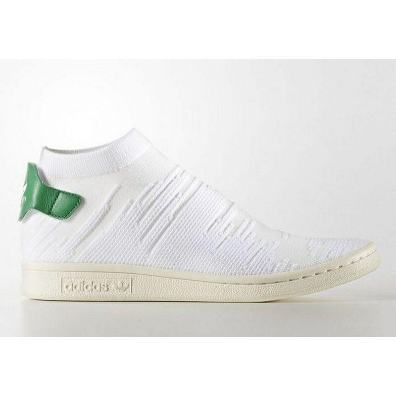 Adidas Unisex Utcai cipő, Fehér Stan smith sock pk w, BY9252-6