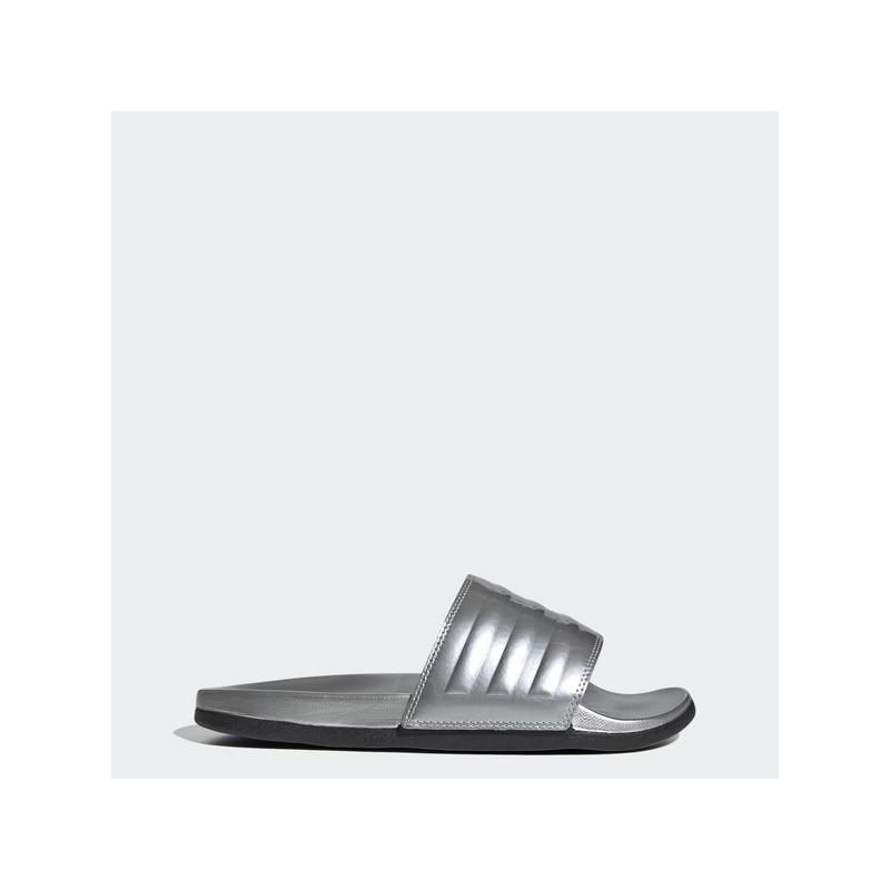 Adidas Női Papucs - szandál, Ezüst Adilette comfort, FW7683-5